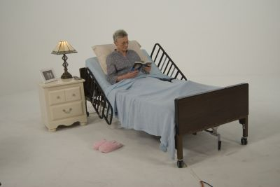 Tool Free Adjustable Half Length Bed Rail