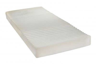 Half Rails and Therapeutic Support Mattress