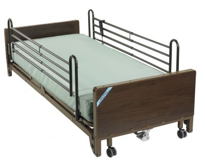 Full Rails and Foam Mattress