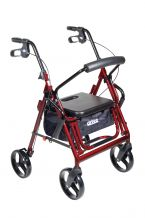 Duet Transport Wheelchair Walker Rollator
