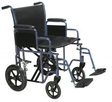 Bariatric Heavy Duty Transport Wheelchair