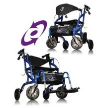 Airgo® FusionTM Side-Folding Rollator & Transport Chair