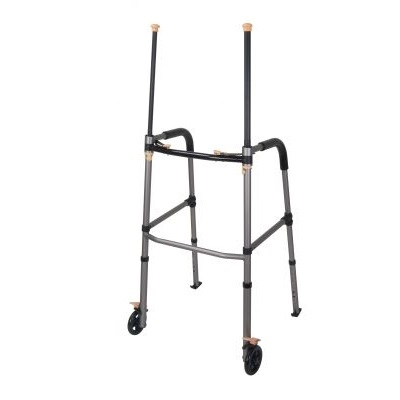 Lift Walker with Retractable Stand Assist Bars