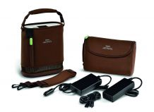 SimplyGo Mini carry bag and strap, brown