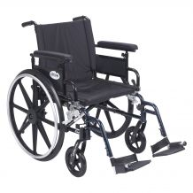 Viper Plus GT Wheelchair with Flip Back Detachable Adjustable Desk Arms