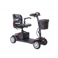 Spitfire EX Compact Travel Power Mobility Scooter, 4 Wheel