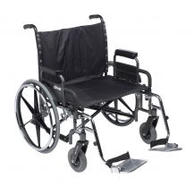 Deluxe Sentra Heavy Duty Extra Wide Wheelchair