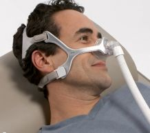 Philips Respironics Wisp nasal mask with fabric frame, with headgear