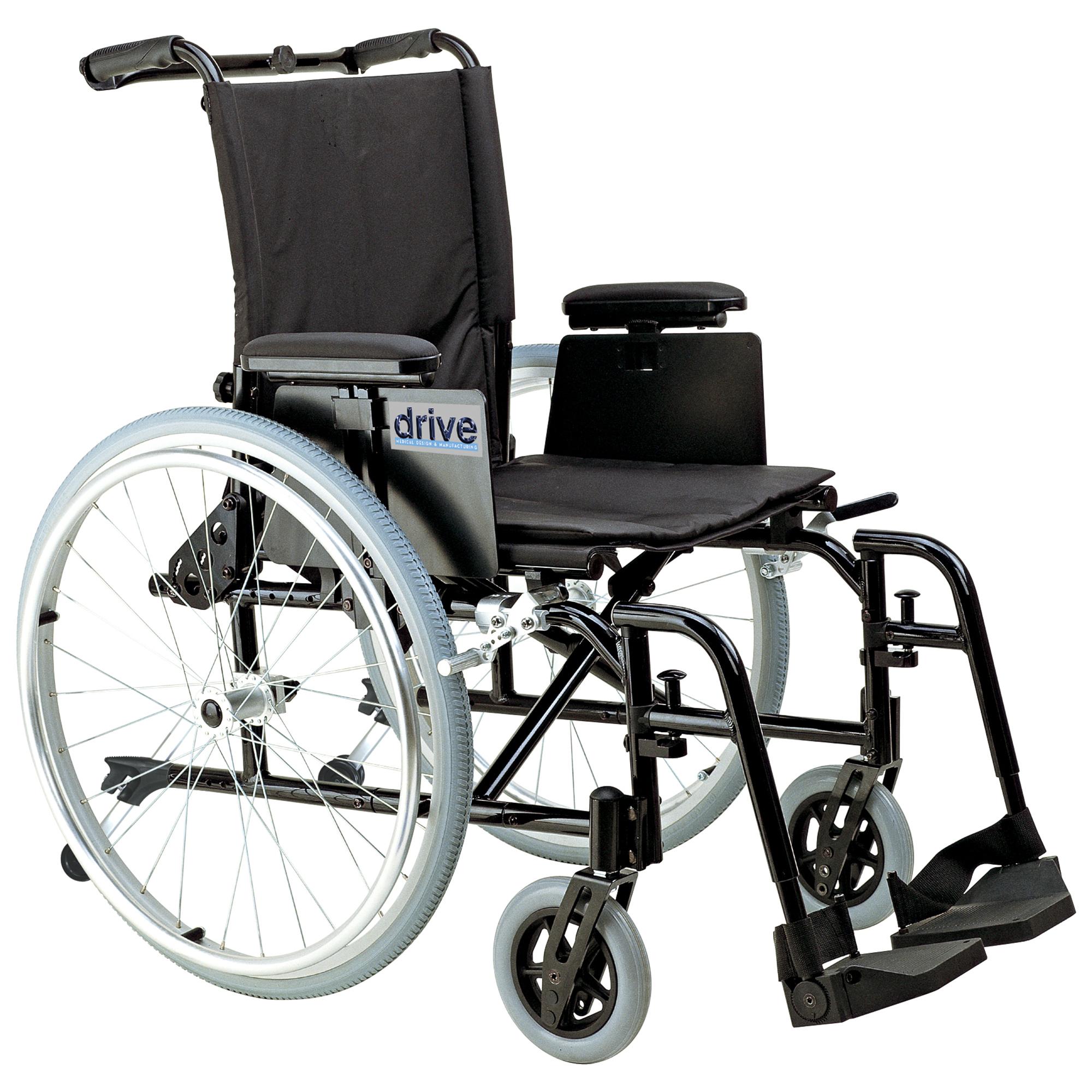 cougar fauteuil roulant en aluminium ultra l ger drive medical fauteuils roulants manuels. Black Bedroom Furniture Sets. Home Design Ideas